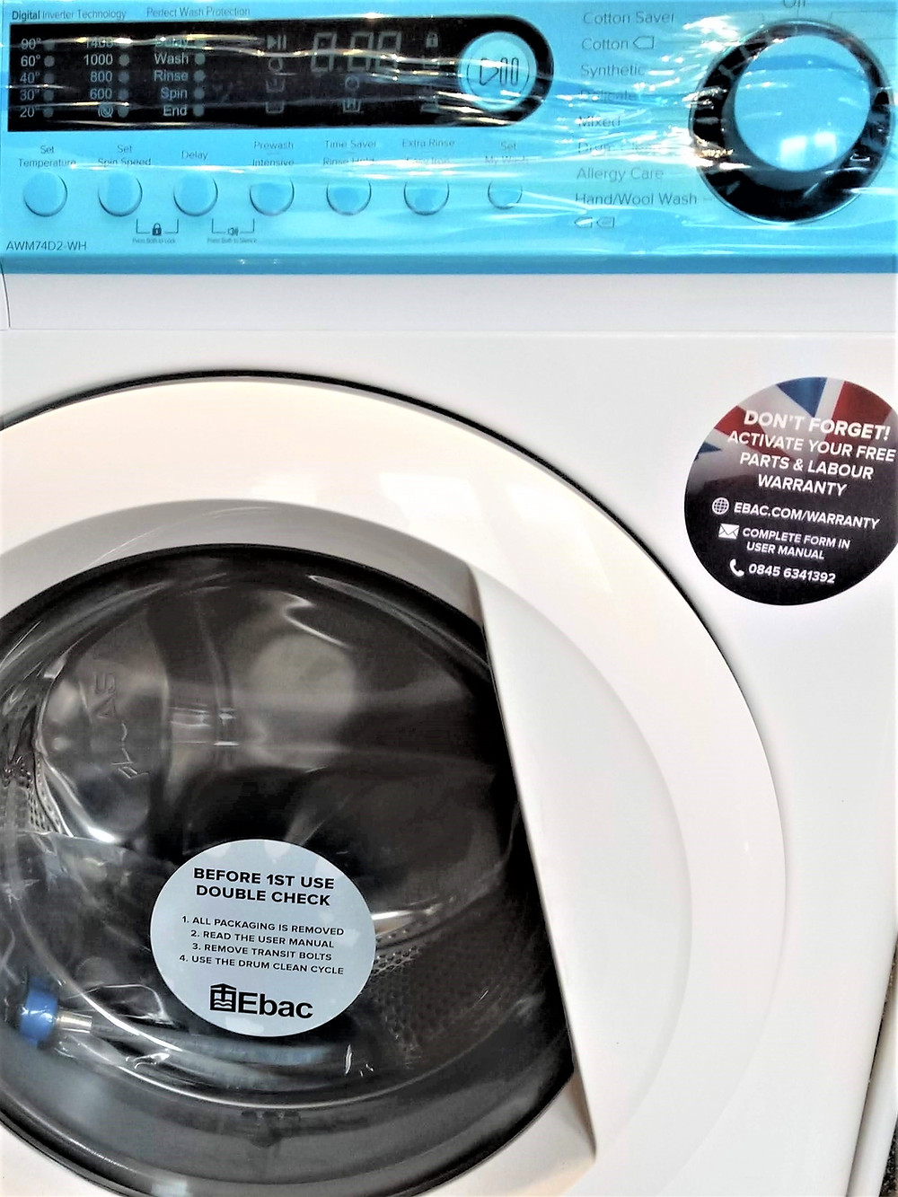 Buy British Made washing machines
