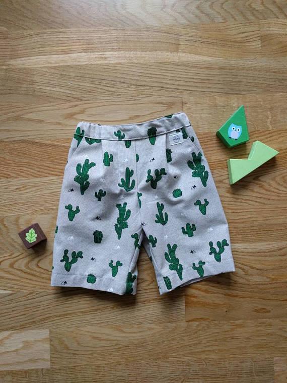 Cacti Print Shorts