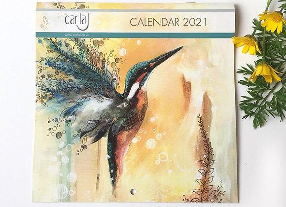 Calendar 2021, Bird Calendar