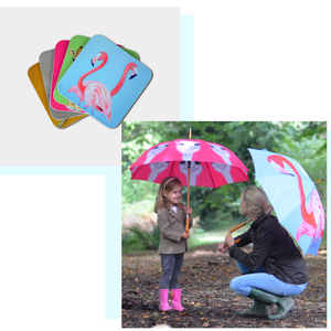 Meet The Maker: Emily Smith Designs: Coasters and Umbrellas