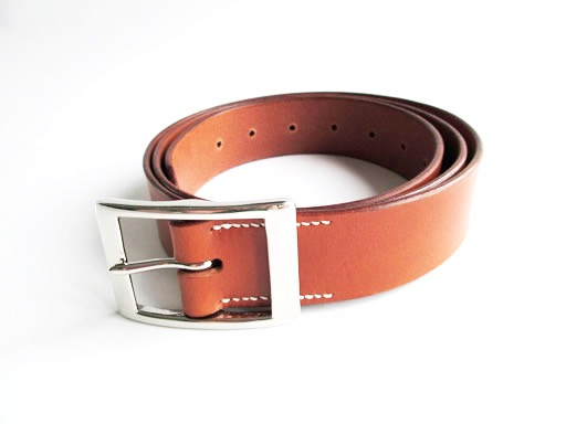 Tan Leather Belt - Roslyn Whiting Leathercraft