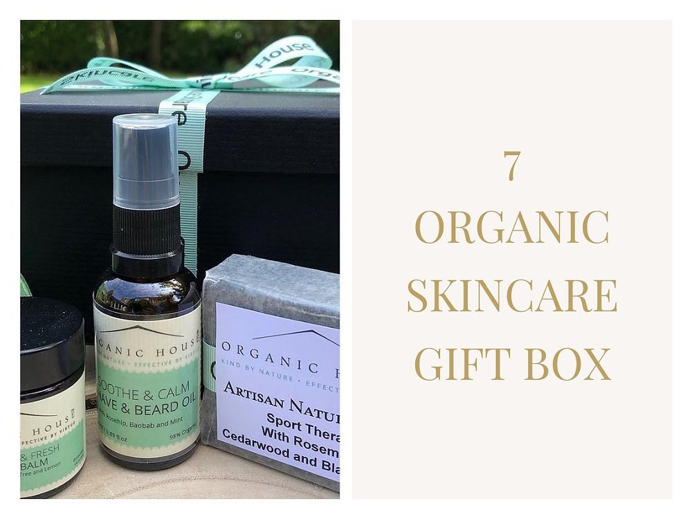 Organic Skincare Gift Box - Organic House Skincare