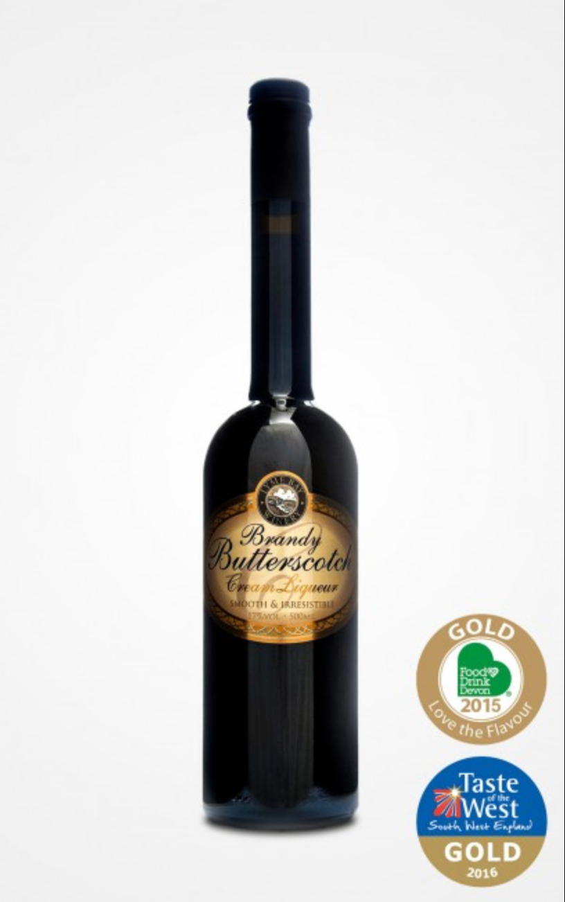 Lyme Bay Winery - Brandy Butterscotch Cream Liqueur