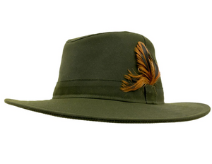 Olive Wax Explorer - The Rain Hat Collection