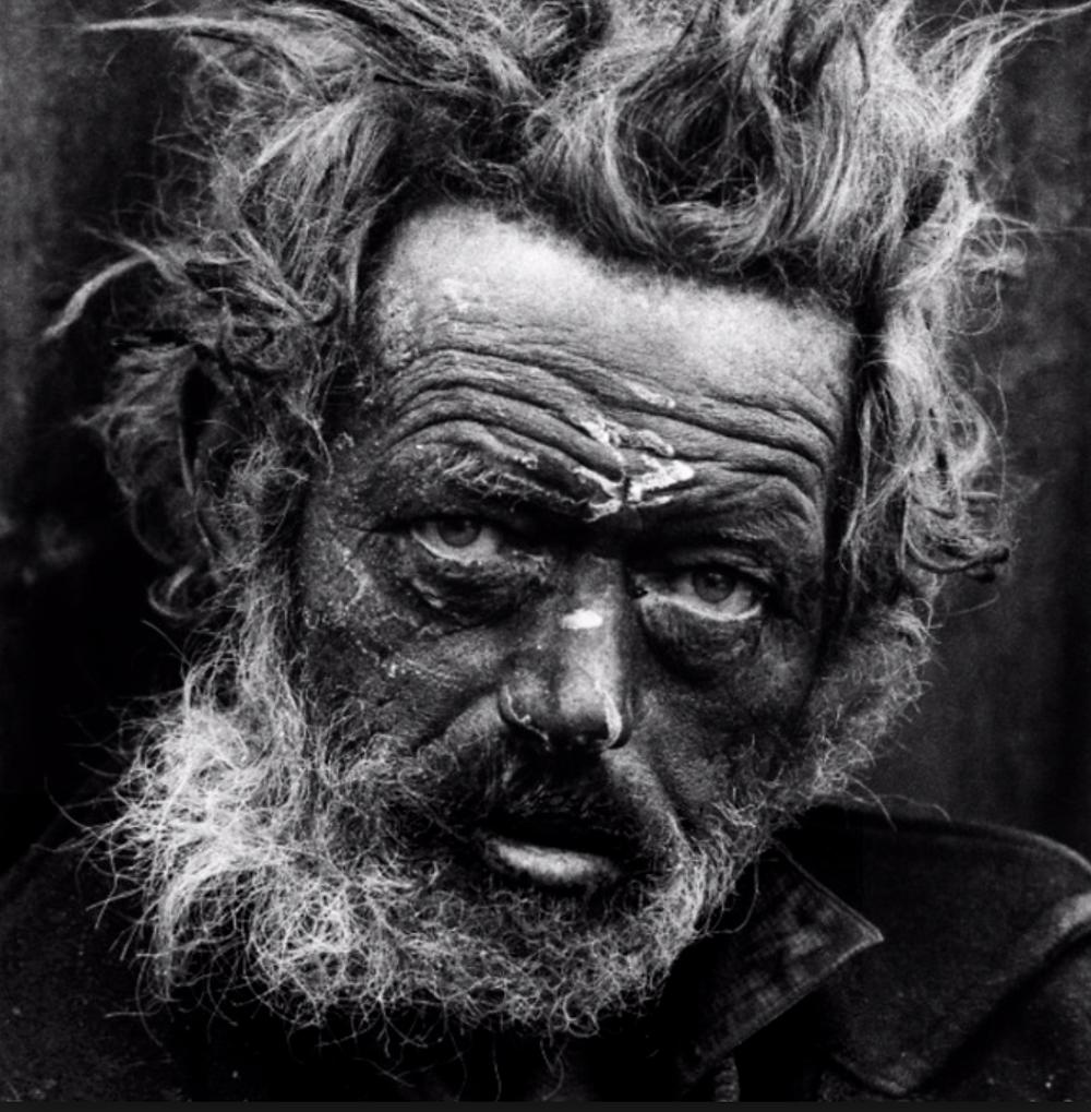 Don McCullin: Portrait of Homeless Man