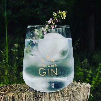 Three Wrens Gin Distillery rescue box