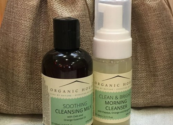 Organic House Cleansers Duo