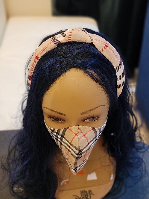 Burberry Inspired headband