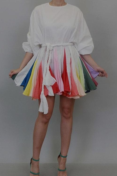 Rainbow Swing Sassy Dress
