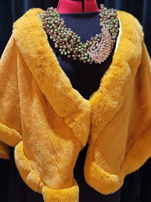 Gold Winter Shawl
