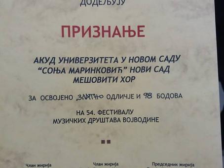 54. Festival muzičkih društava Vojvodine