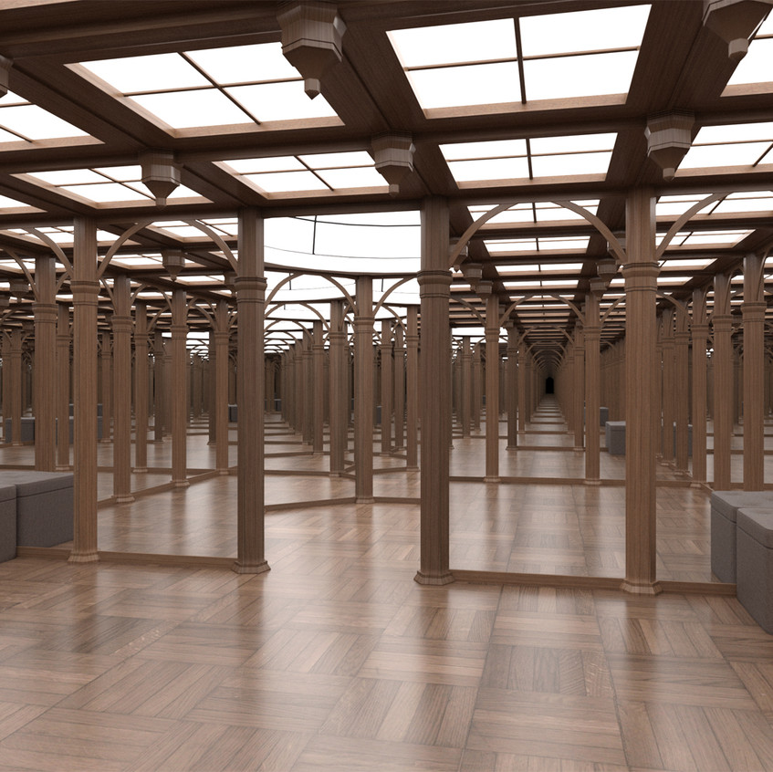 Hall of Mirrors without the pillars