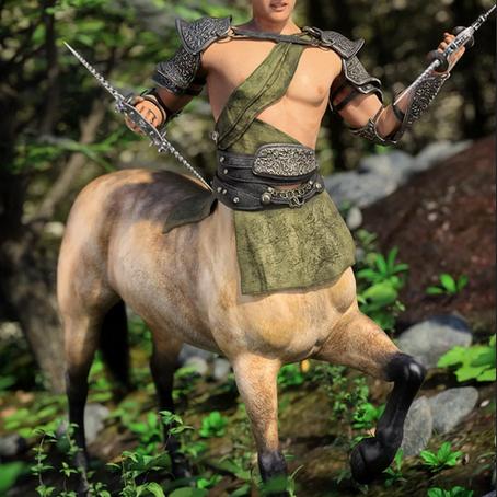dForce Dimeros Outfit for Centaur 8 Male(s)
