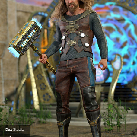 Convergence Outfit for Genesis 8 Male