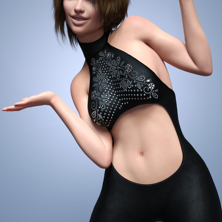 dForce Flared Chic for Genesis 8