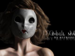 Creepy Doll Mask Freebie