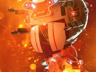 Drone Eye: Warden Textures
