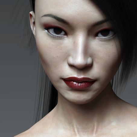 Keiko - Free Character Morph for Genesis 3
