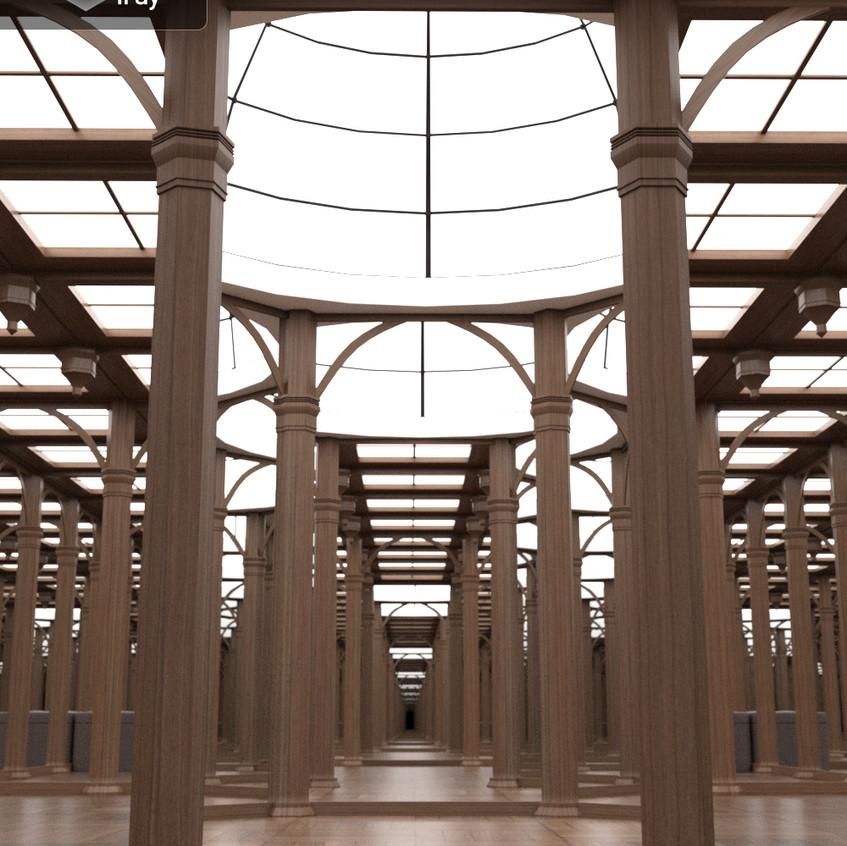 Hall of Mirrors rotunda room