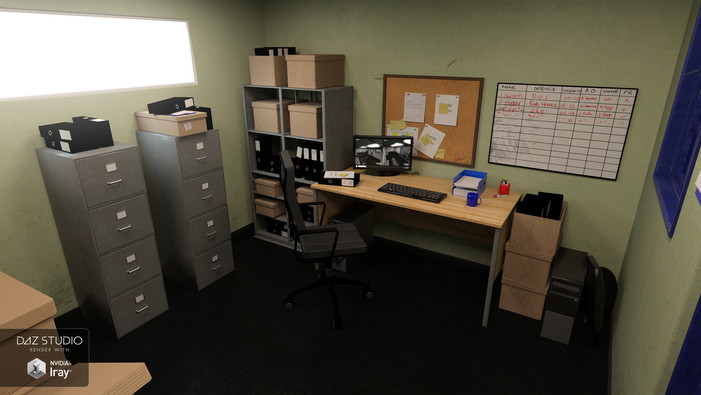 Holding Cell Office