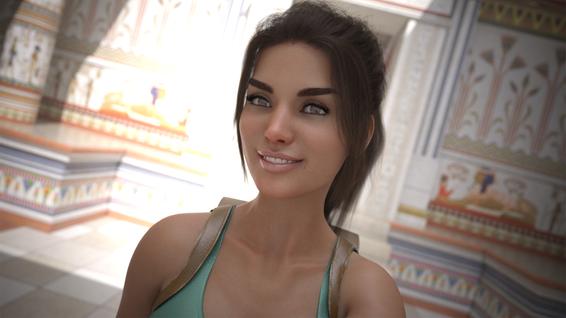 Lara Selfie