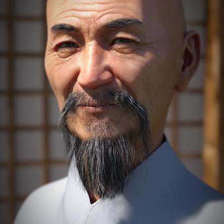 Mr Woo 8 Character
