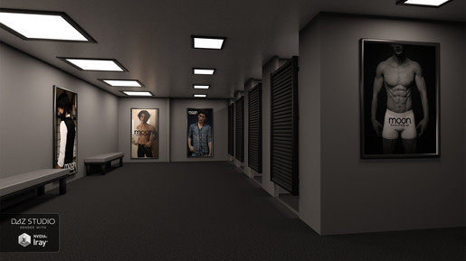 Fitting Rooms Male Layout