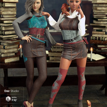 Dragon Sitter Outfit and Textures