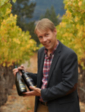 Winemaker Mike Sjoblom