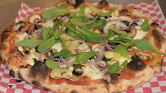 Tutte Verdure Pizza (All Vegetables)