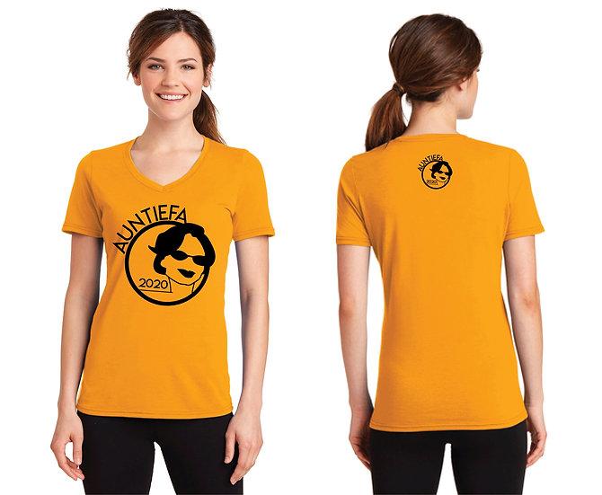 Auntiefa 2020 Women's V-Neck T-Shirt