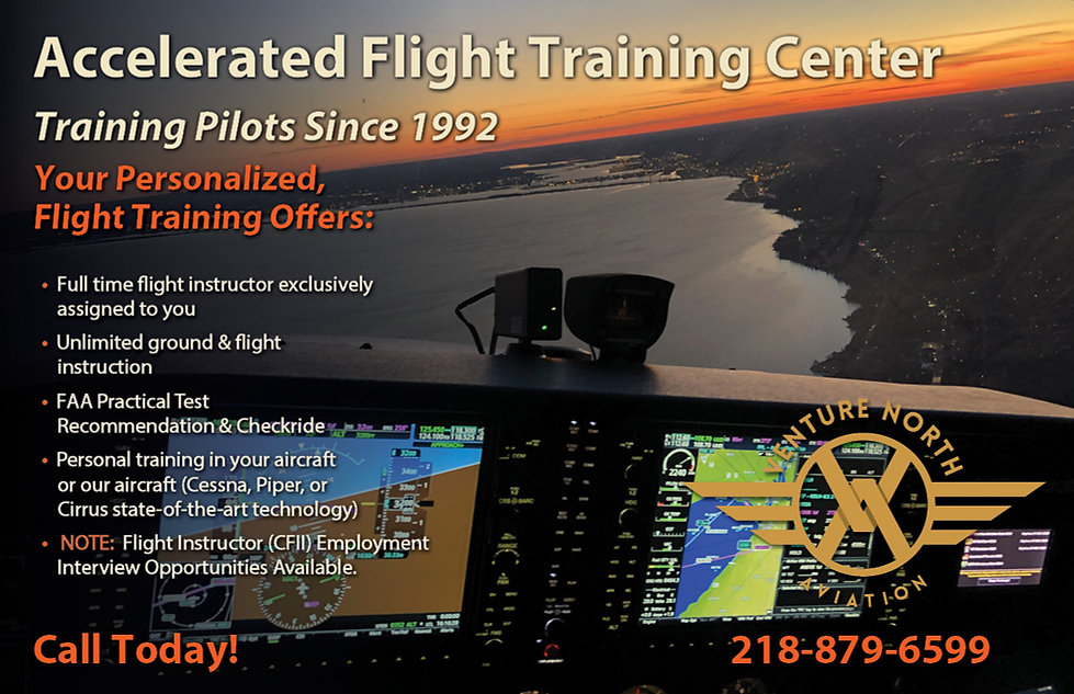 Accelerated Flight Training Courses