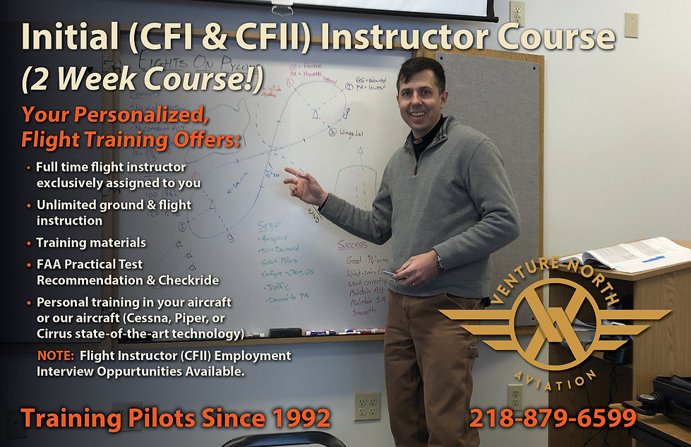 2021 Two Week CFI and CFII Course