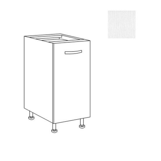 Base cucina 40x60x82h bianco frassinato