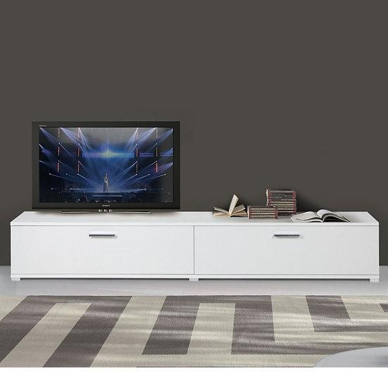 Base 240 cm soggiorno bianco frassinato