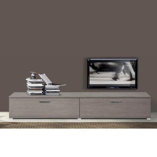 Base 240 cm soggiorno larice grigio