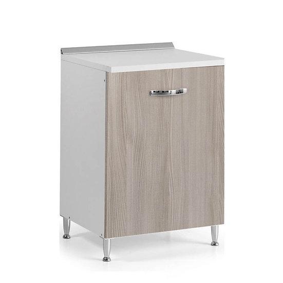 Base cucina con anta 60x50x85H olmo