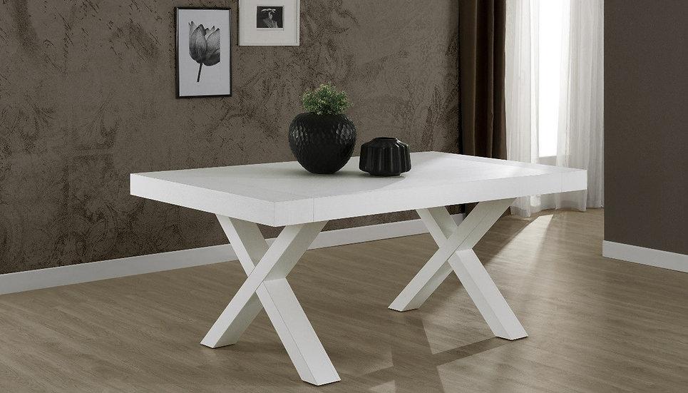 Gondar tavolo allungabile 180x100 bianco larice