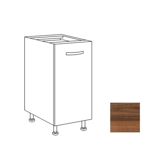Base cucina 40x60x82h noce country