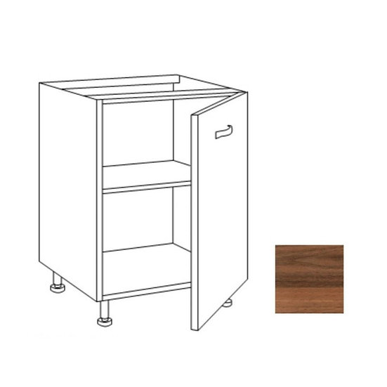 Base cucina 60x60x82H cm noce country