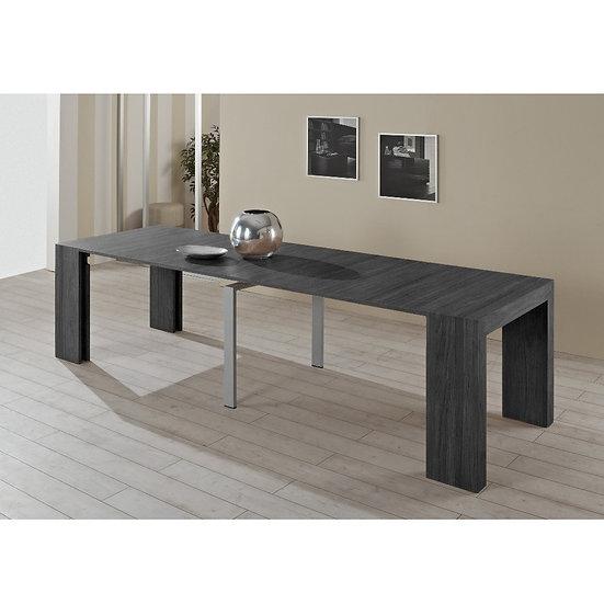 Consolle tavolo allungabile Audace ossido