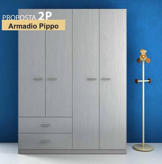 Armadio Pippo 2P