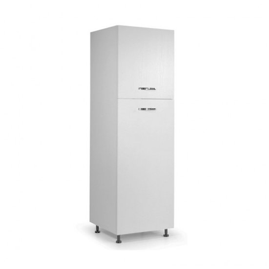 Colonna frigo 60x215H bianco frassinato