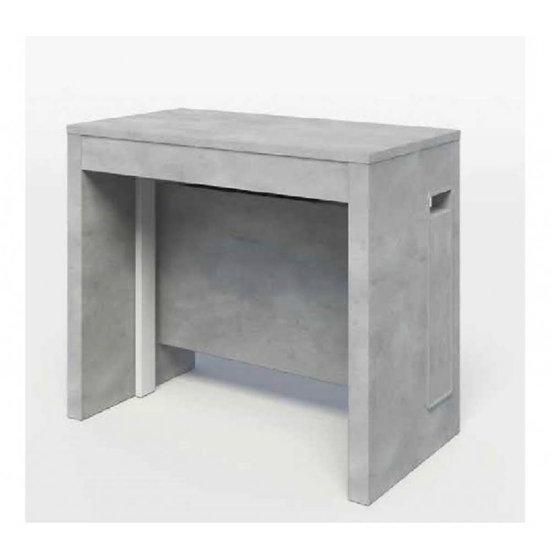 Consolle cemento allungabile 90x40x76 cm. Zoom 5