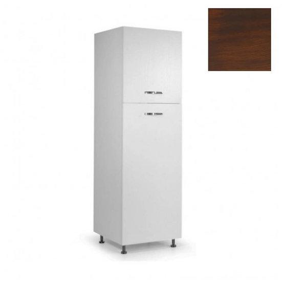 Colonna frigo 60x215H noce antico