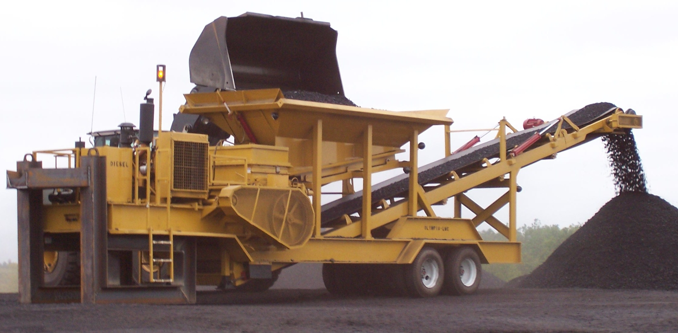 crusher left side