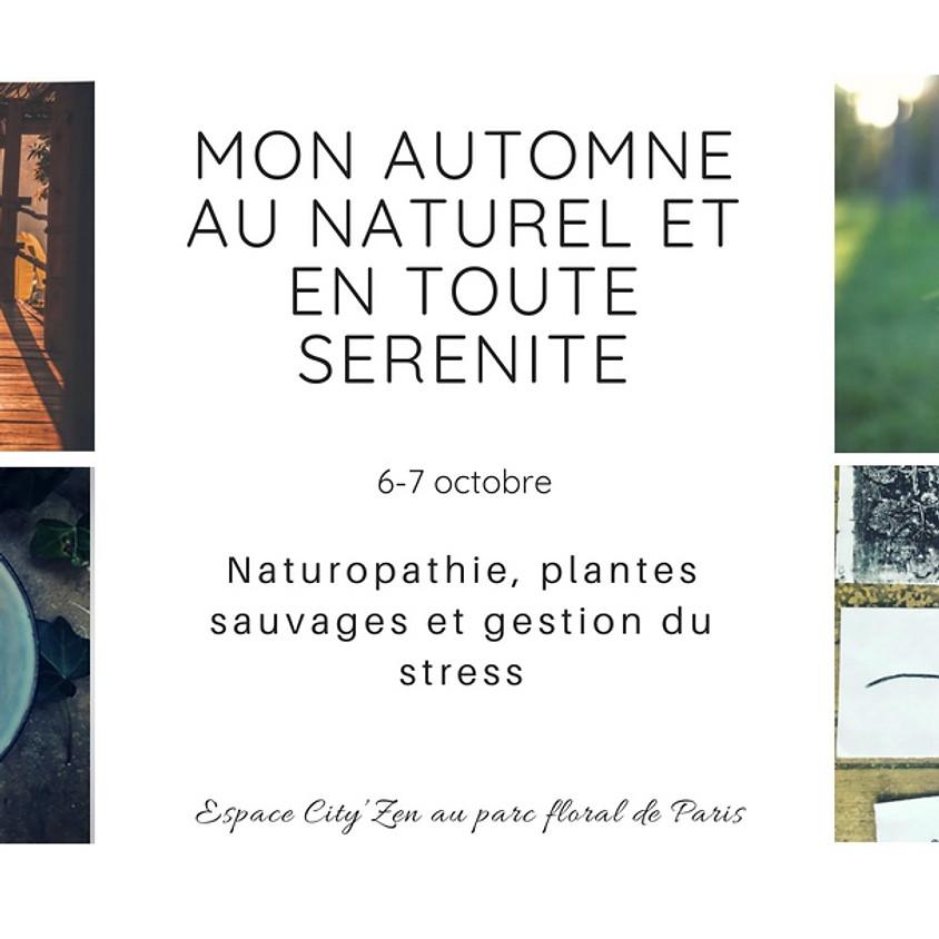 """Stage """"Mon automne au naturel et en toute sérénité"""""""