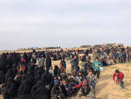 How Baghuz unfolded: Humanitarian aid, 22,000 people, FBR and the end of ISIS