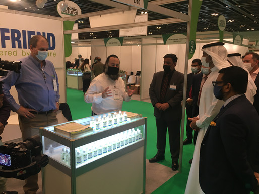 Israel's Eco Friend at Middle East Organic and Natural Products Expo Dubai