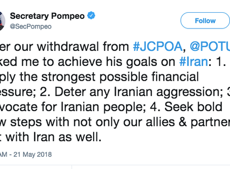 Transcript of Pompeo's Iran speech with notes